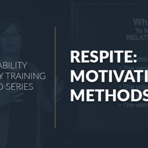 Respite: Motivation & Methods