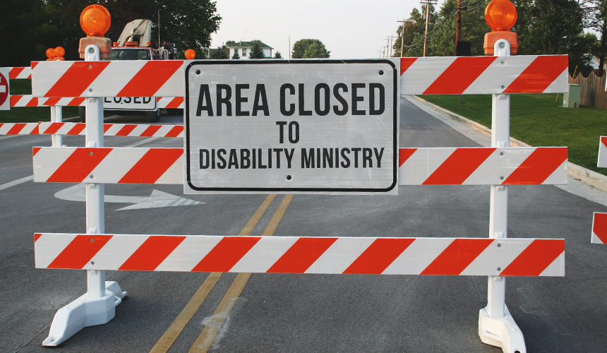 Roadblocks to Starting Disability Ministry