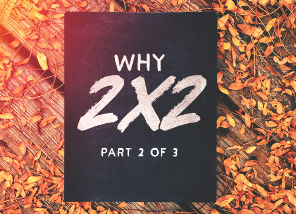 Why 2×2? Part 2 of 3