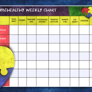 #BeHealthy – Weekly Chart