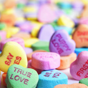 Candy Heart Messages from God